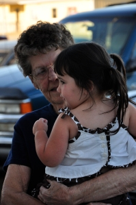 2010 - Payton singing Happy Birthday to Grandma at her 80th Birthday party.