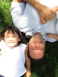 Payton & Dad 2011