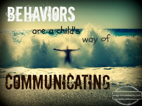 like a wave, our child's behaviors come from deep within.