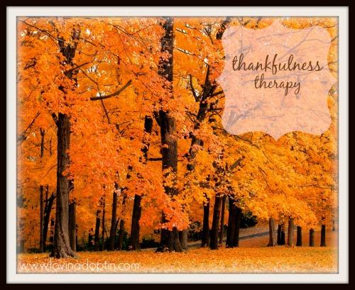 thankfulnesstherapy