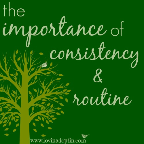 consistency&routine