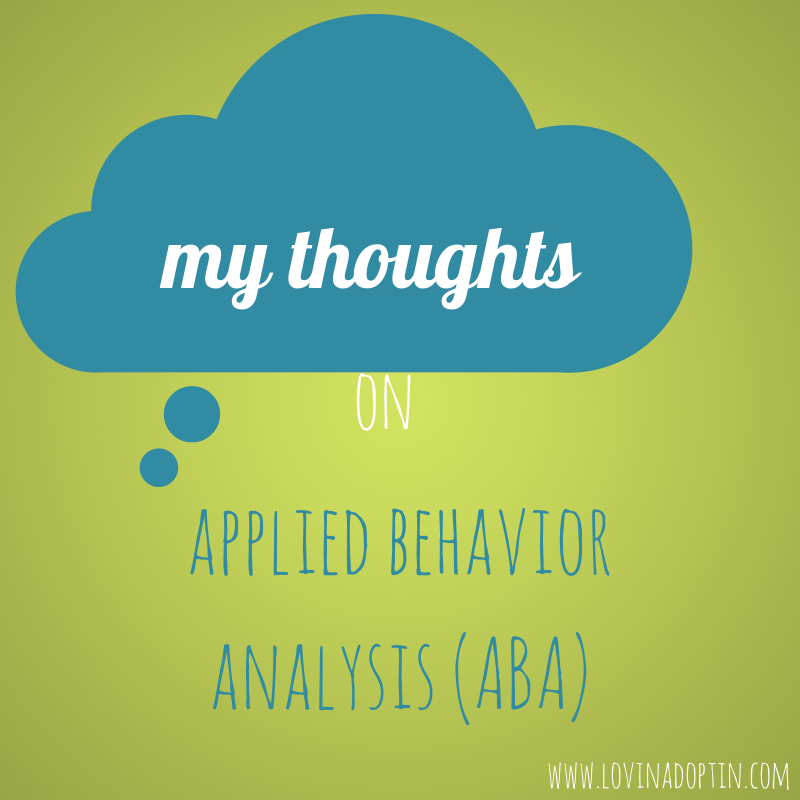 My Thoughts On ABA