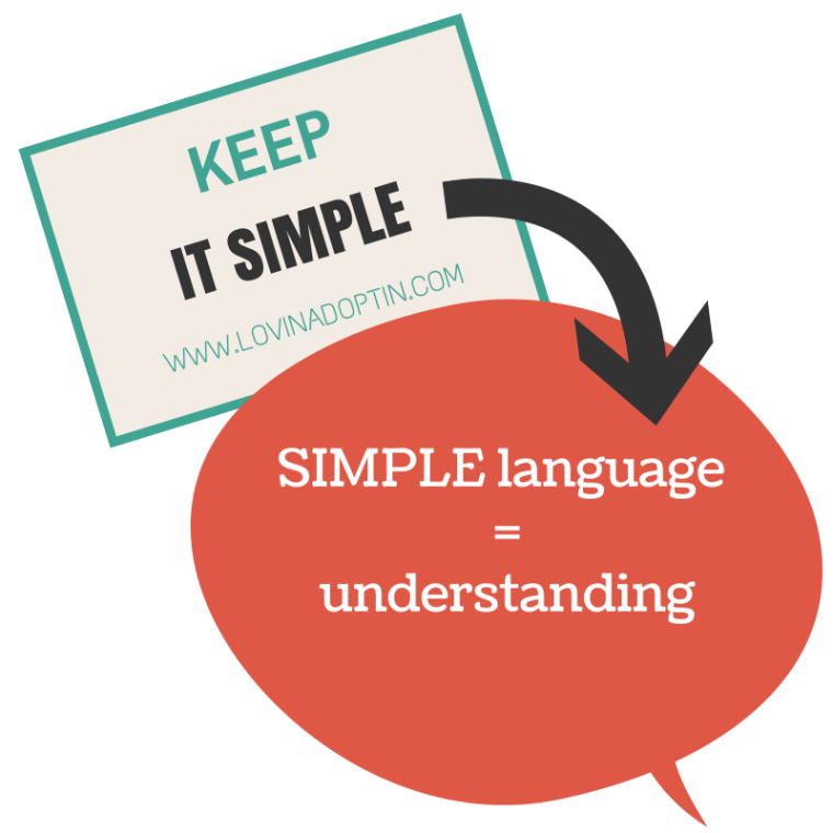 keep it simple-understanding