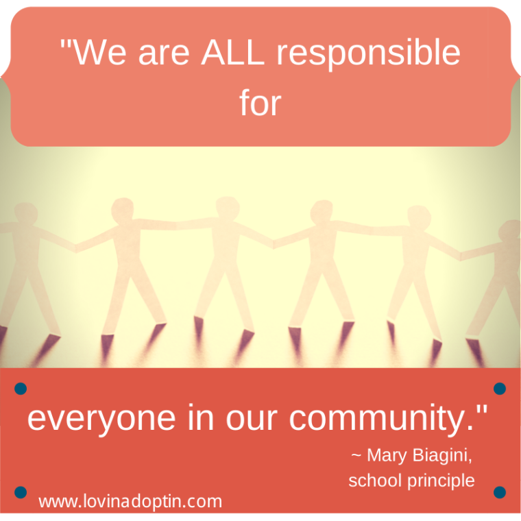 %22We are all responsible for everyone in our community