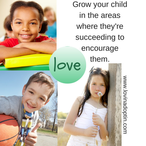 grow your child where they're succeeding