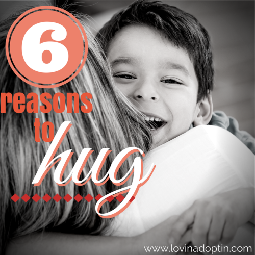 6 reasons to hug