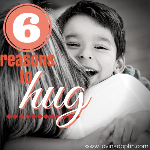 6 reasons to hug