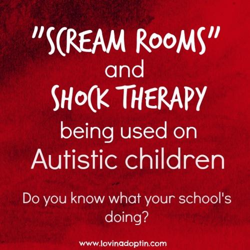scream rooms autism