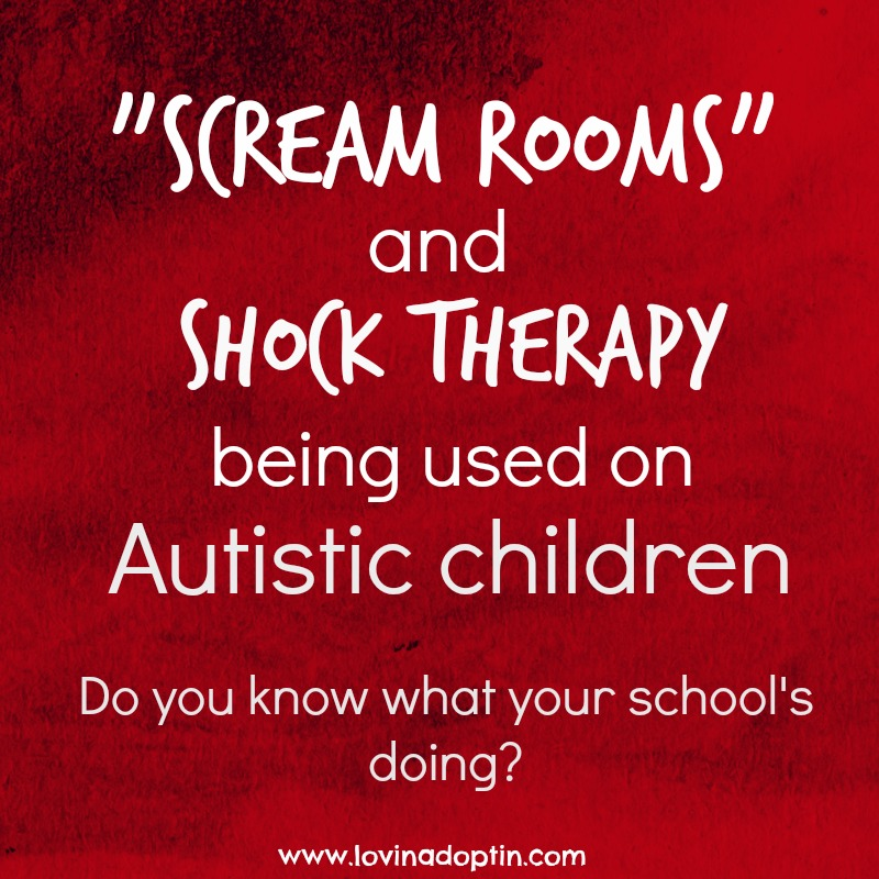 scream rooms autism