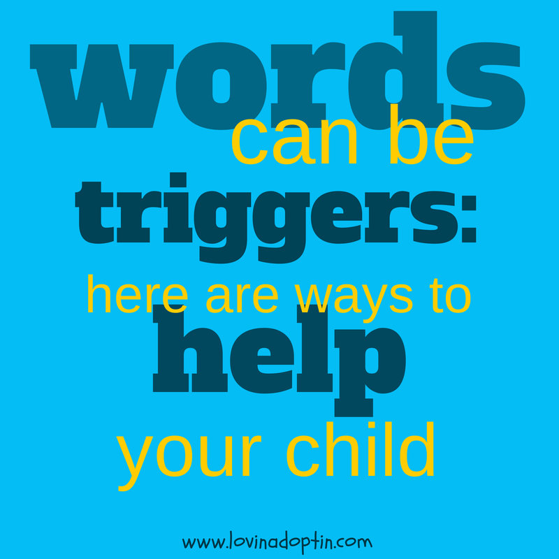 words can be triggers