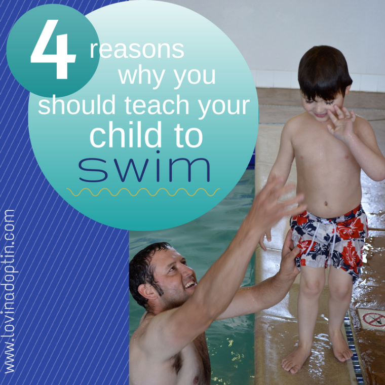 4 reasons why you should teach your child to swim