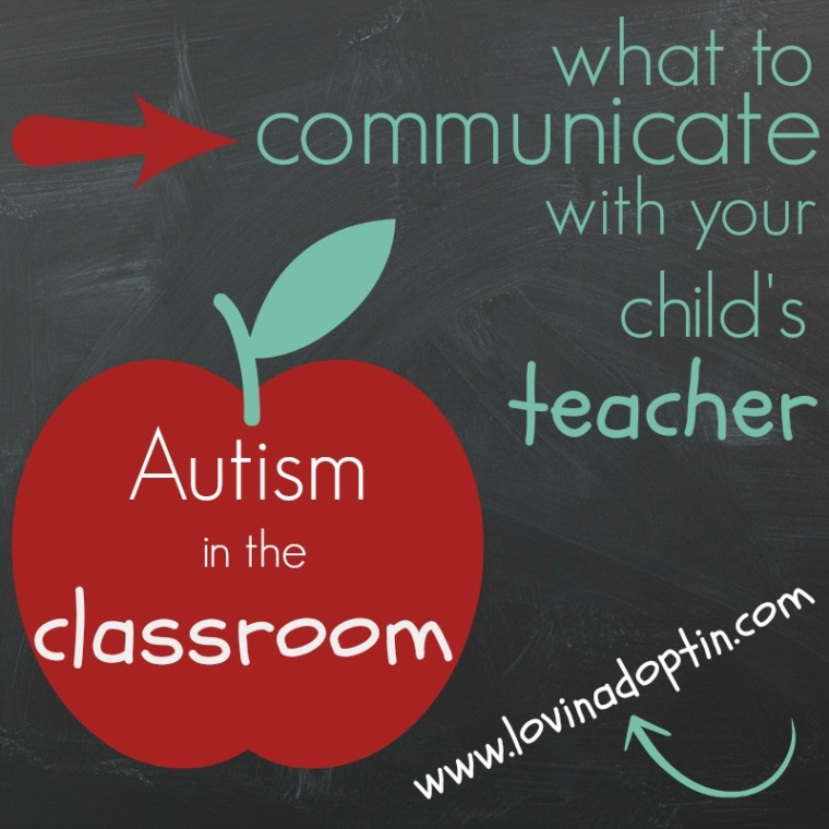 communicate with your childs teacher