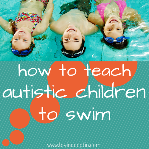 how to teach autistic children to swim
