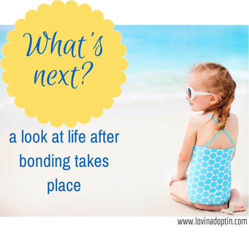 What's next? a look at life after bonding takes place