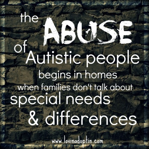 abuse of special needs
