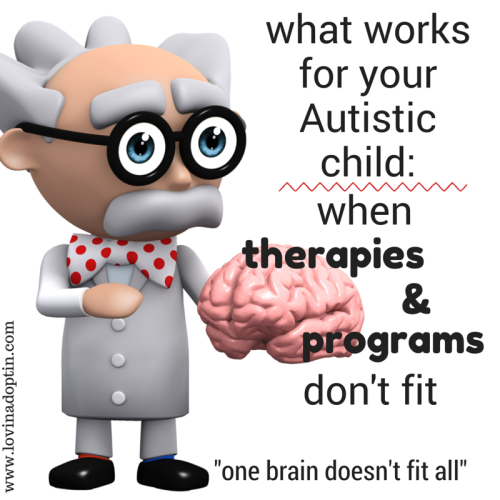 what works for your Autistic child