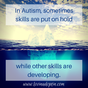 Autism skills put on hold