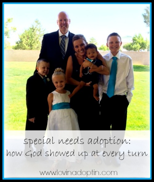 Special needs adoption - God