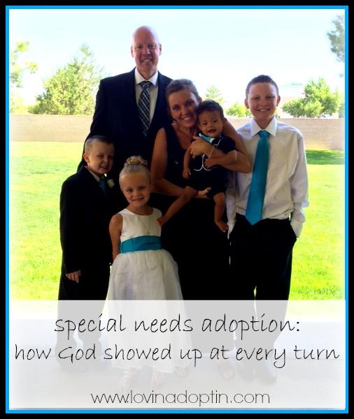 Special needs adoption - God