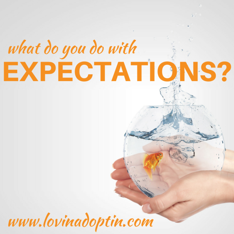 what do you do with expectations