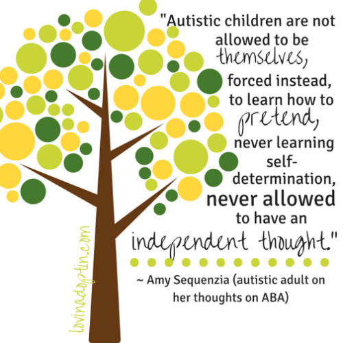 autistic adults thoughts on ABA