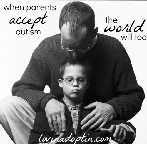 when parents accept autism