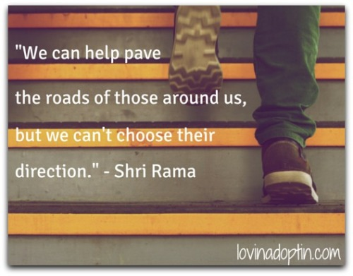 we can only pave the road, we can't choose our child's direction