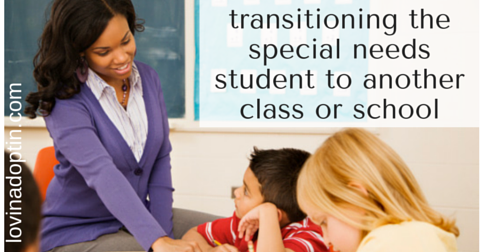 transitioning the special needs student