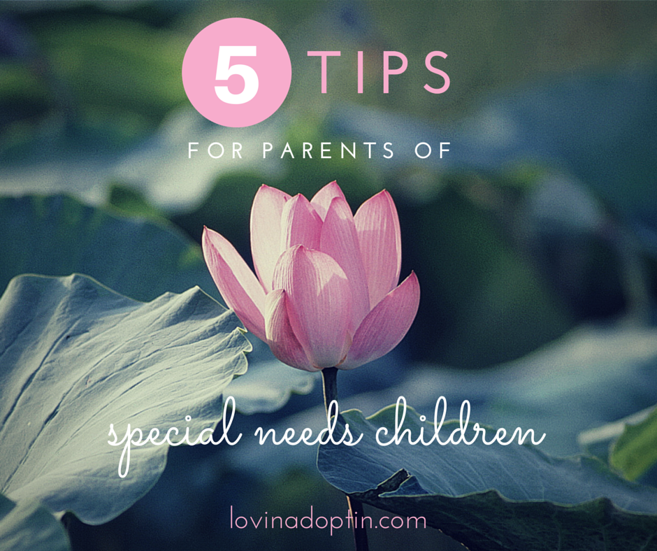 5 tips for parents of special needs children