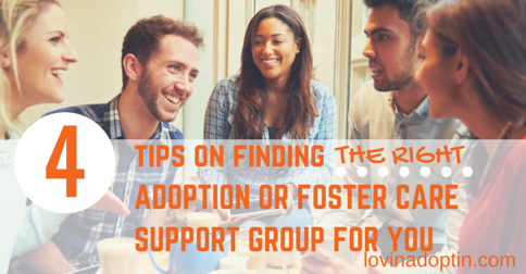 4 tips on finding the right adoption or foster care support group